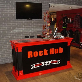 RECEPTION ROCK HUB
